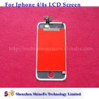 for iphone 4s lcd assembly with glass touch screen