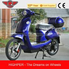 500W, 800W 48V 20Ah VESPA type Electric Motorcycle, Electric Motorbike (EB05)
