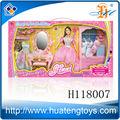 ชุดราคาถูกทำของเล่นตุ๊กตาที่มีโต๊ะเครื่องแป้งที่กำหนดไว้สำหรับการขาย