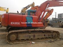 Used Hitachi EX200-1,EX200-2,EX200-3 Crawler excavator