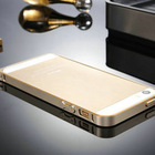 for iphone 5 new arrival!!! for iphone5 pc+ aluminum smart cover case for new iphone 5