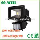 High Quality pir sensor led flood light 10W Motion Sensor AC220V 12V