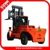 material handing 35 ton forklift truck VS 45 ton reachstacker VS container stacker