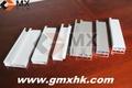 la base de la cocina de mango y marco de aluminio extruido perfil hueco