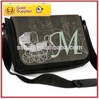 Newest name brand messenger vintage shoulder bag nice quality fashion messenger bag canvas