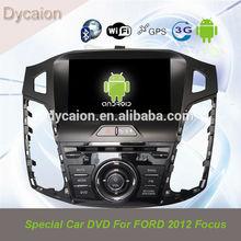 Car audio gps dvd ford focus/ford focus android 4.1/auto radio car dvd ford focus