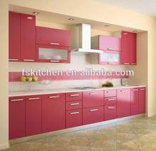 small wooden kitchen cupboard