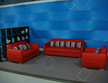 PU,PVC, leather Korea systel sofa suite 3 seater+2 seater+ armchair