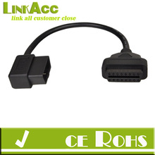 linkacc js-85 16 Pin Male To Female OBDII OBD2 Extension ELM327 Diagnostic Scanner Car Cable