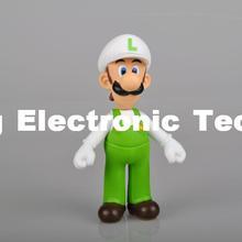 "New Super Mario Bros 5"" LUIGI Action Figure Toy mm"