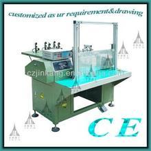 0.3-1.6mm wire diameter range semi-auto professional high prescision coil winding machine manufacturer of production line