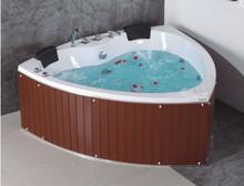 sexy heart shaped wooden massage bathtub
