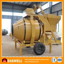 super quality automatic feeding hydraulic pump diesel concrete mixer