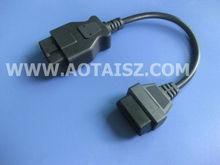 OBDII Male female cable Auto electrical wire