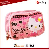 2014 hot selling printed bulk cosmetic bags