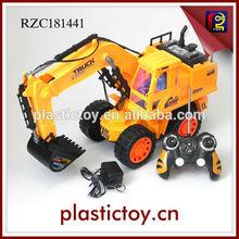 6 canali rc costruzione camion giocattolo escavatore rzc181441