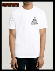 100% cotton custom printed tshirt china manufacturer