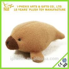 New design sea animal stuffed seal plush magnet for promotion