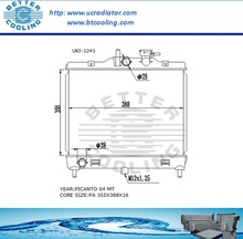 Auto Radiator For KIA PICANTO 04 MT