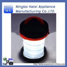 Retractable Long Lasting Rainproof Collapsible Hand crank LED Lantern