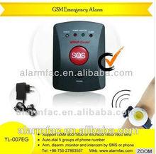 China product ! Wolf guard necklace style wireless emergency alarm elderly (YL-007EG)