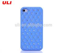 Rhinestone cell phone case diamond phone case for iphone 4