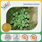 Chinese herb medicine natural aphrodisiac 3%-40% irariin horny goat weed extract/ epimedium extract icariin