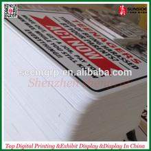 PVC Board Printed Advertising PS Foam Board,ABS Board Printing