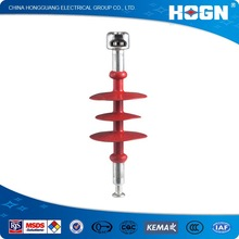 11kv red electrical polymer insulator