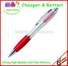 2014 hotsales Cheap price promotional plastic pen custom logo pen