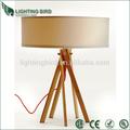 2014 vendita calda ul ce rohs saa lampada da tavolo in legno illuminato tavoli da cocktail