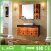 floor mount Beautiful home decor high quality bathroom sink base cabinets