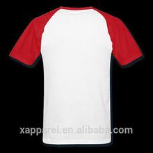 Cotton t shirt printing hong kong cheap blank mens half sleeve t shirt