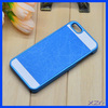 2014 funky mobile phone case with leather sticker