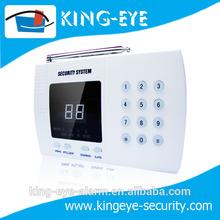 Security system auto dial pstn remote control wireless personal alarm (KI-2700A)