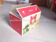 Custom Printed Shipping Boxes, Custom Paper Packaging Boxes, CMYK Printing Corrugated Packaging Carton Box