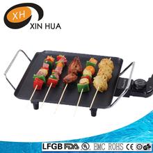 27*27cm electric bbq non stick grill