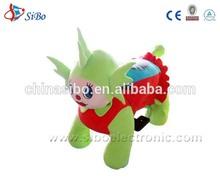GM5948 SiBo Baby kids toys plush rocking horse animals ride on rocker