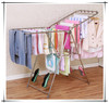 High quality folding clothes rack for drying clothes