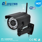 2.0 MP h.264 p2p 1080P full HD ip camera support iphone/andriod app
