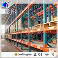 nanjing fabricante de imersão a quente de aço galvanizado metal rack sistema de armazenamento vertical