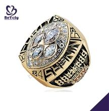 1989 49ers gold fine souvenir wholesale pave diamond rings