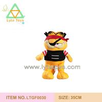 Plush Pirate Garfield Toy