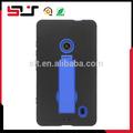 Nuevo estilo armor hard compacto pata de cabra caja del teléfono móvil para nokia lumia 520