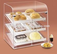clear acrylic cupcake display cabinet / acrylic cake display