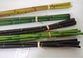 falso en seco la decoración de palillos de bambú de