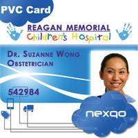 Plastic Sample Employee ID Cards