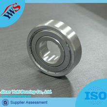 waterproof rubber coated price list 606 607 608 ball bearings