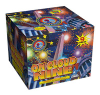 """High quality 2"""" ON CLOUD NINE / 2"""" 9 Shots Consumer Cake Fireworks / outdoor fireworks for Christmas / 4th of July / celebration"""