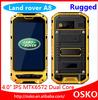Land Rover A8 MTK6572 IP68 Waterproof Dustproof Shockproof IPS Gorilla glass Capacitive screen GPS rugged phone
